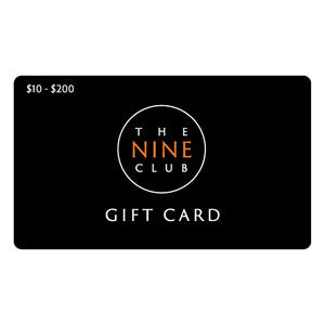 Nine Club Gift Card