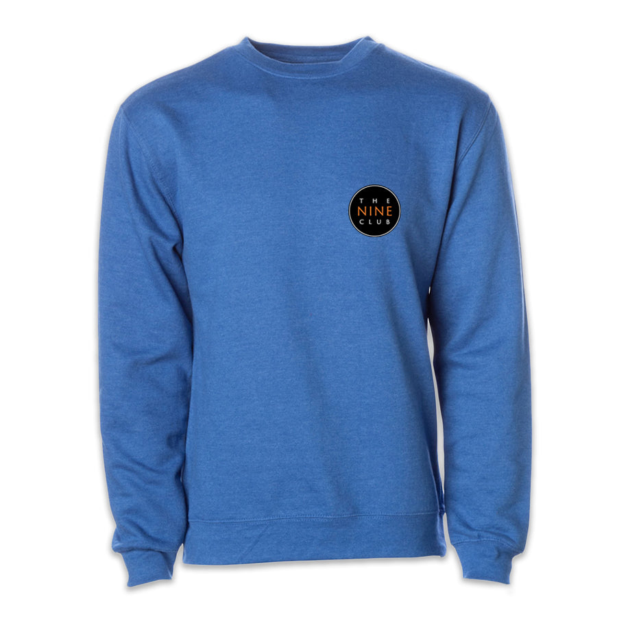 Crew Neck Sweatshirt - Royal Blue Heather