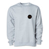 Crew Neck Sweatshirt - Grey Heather