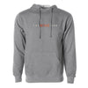 Nine Club Embroidered Hoodie - Gunmetal Heather