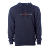 Nine Club Embroidered Hoodie - Navy