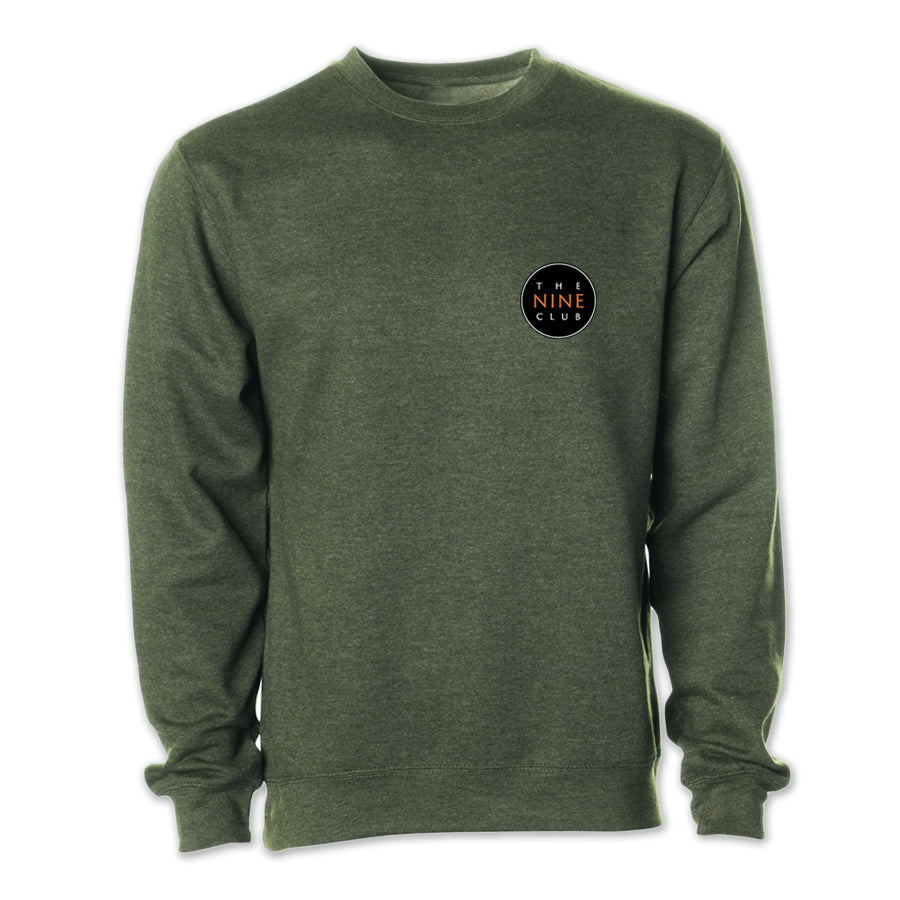 Crew Neck Sweatshirt - Army Heather