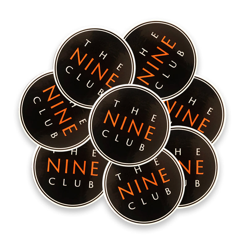 Sticker Pack - Nine Club Logo