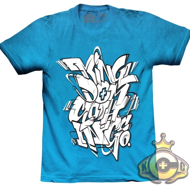 Kingdom clothing co Graffiti Tshirt