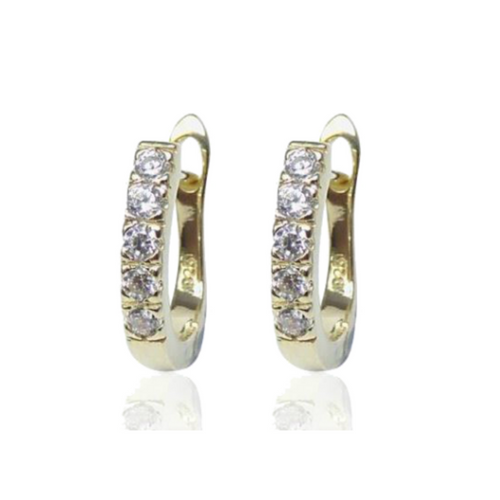 The New Romantics Leo Earrings