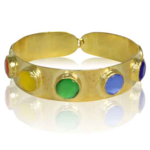 The Rainbow Gladiator Cuff