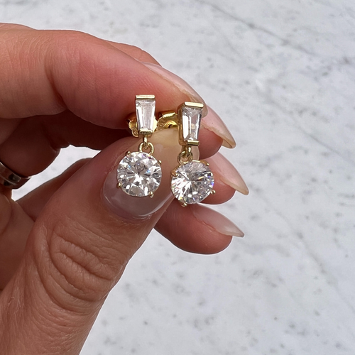 The Black Nefertiti Earrings