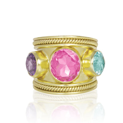 The Three Graces Ring