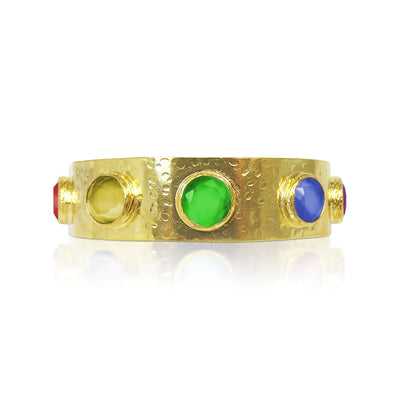 The Rainbow Gladiator Cuff - restocked in 2 weeks