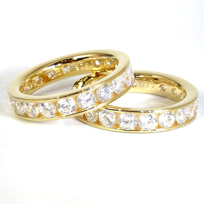 The 4mm 'Diamond' Eternity Band