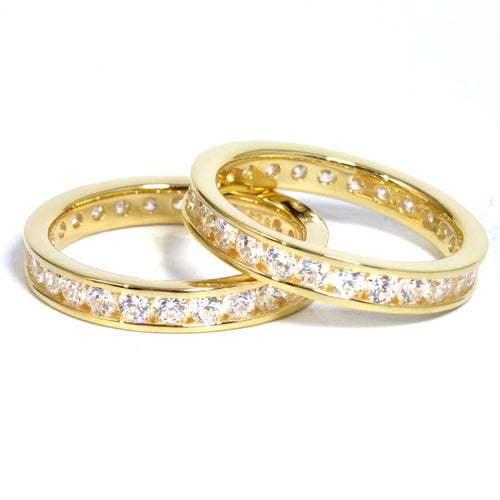The 3.5mm 'Diamond' Eternity Band