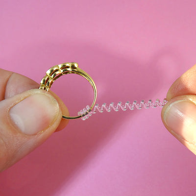 The Magic Universal Ring Resizer - makes rings smaller!