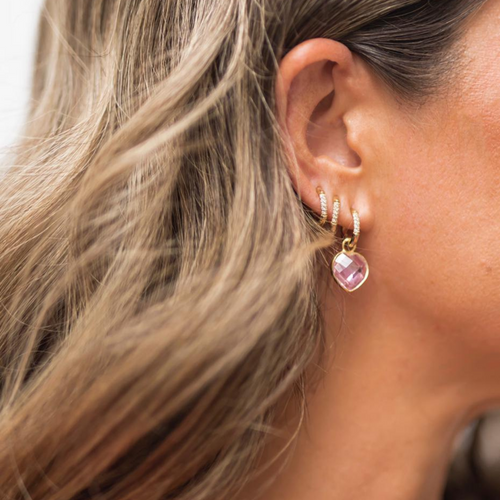 The 'Bisou Bisou!' Detachable Earrings
