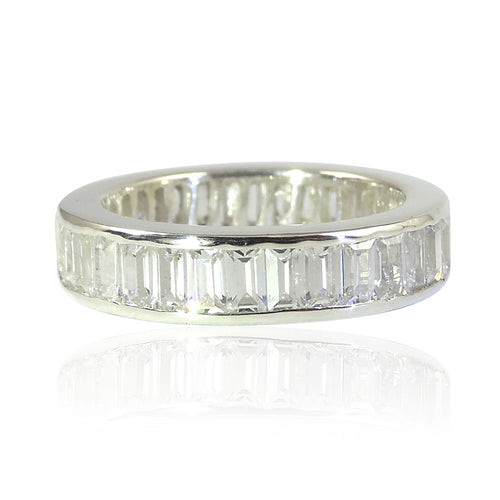 The Channel Set Baguette 'Diamond' Eternity Ring