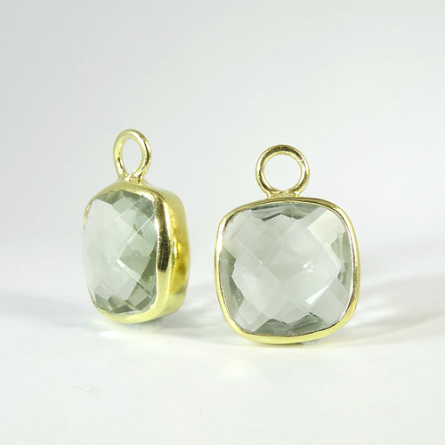 The New Cushion Cut Detachables - GOLD