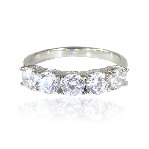 The Beautiful Half Eternity Ring