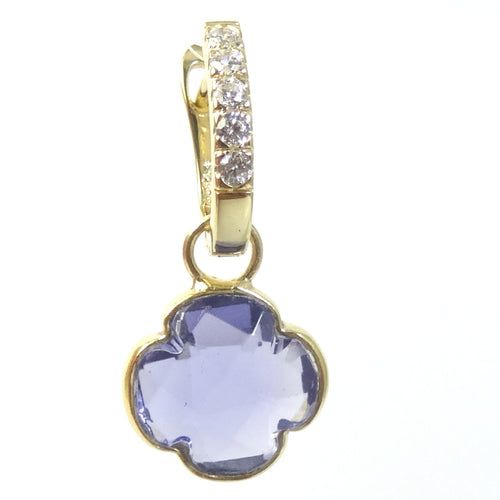The Gold Clover Gemstone Detachables