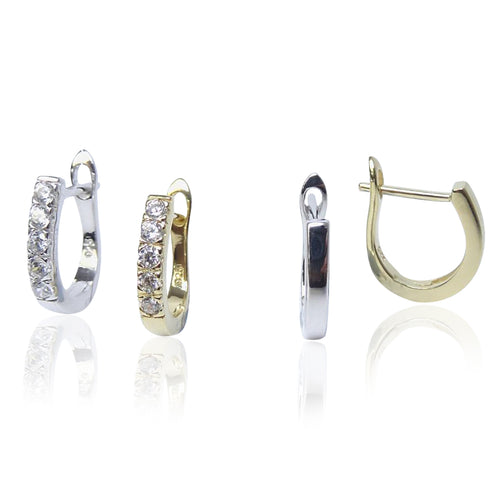 The Heavenly Cushion Cut Detachables - SILVER
