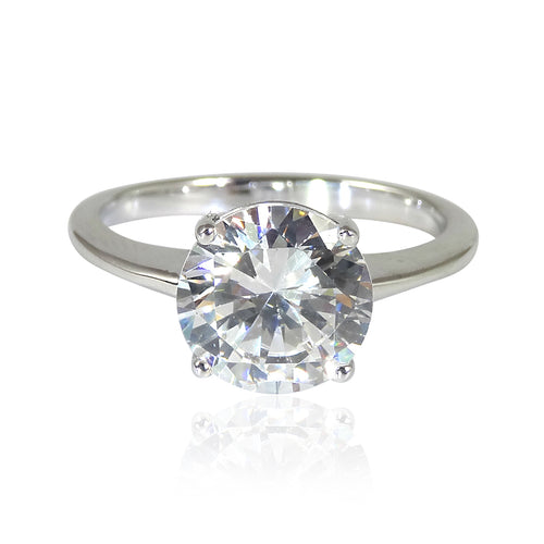 Classic Solitaire 'Diamond' Ring