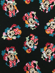Minnie Mouse Flowers Face Mask