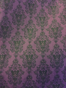 Haunted Mickey WallPaper Face Mask
