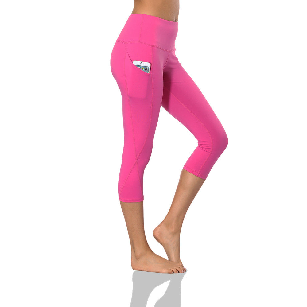 Ultra-soft Yoga Pants With Pocket