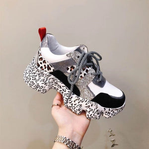99a2bcc93a RY-relaa women sneakers 2018 cowhide running shoes Platform shoes Pigskin  spring new women's shoes wedges shoes for women