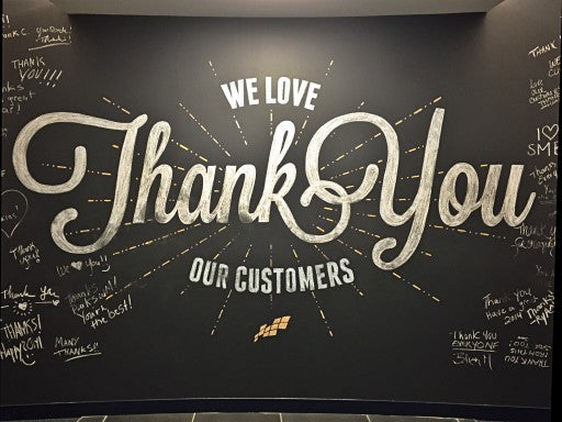 Customer Appreciation: Thank You Poly Mailers