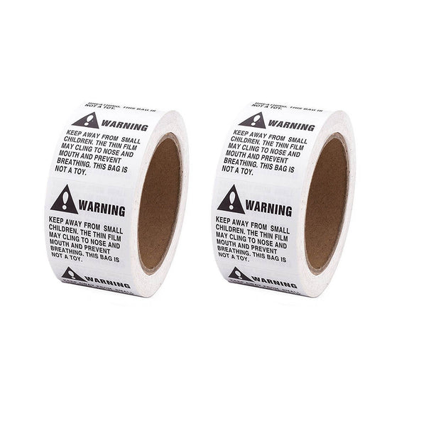 Shop4Mailers Warning Suffocation Labels 2