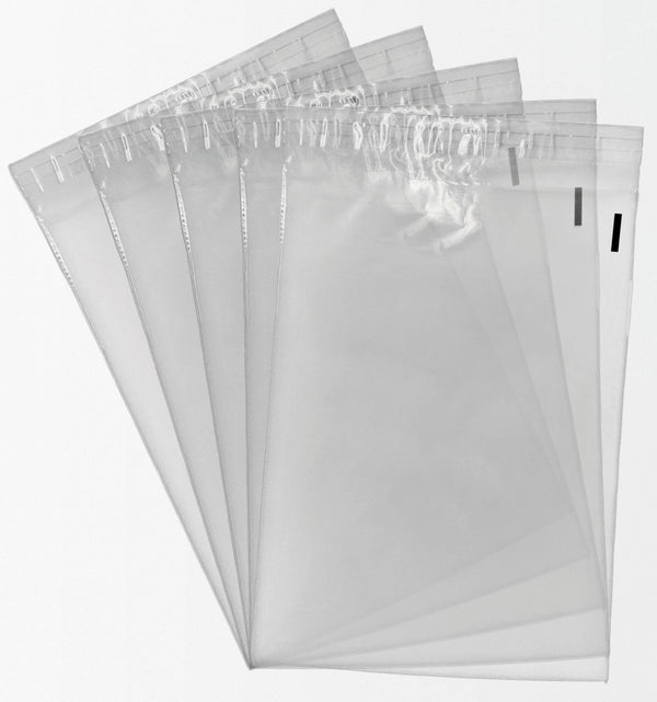 Shop4Mailers 9 x 12 Clear Plastic Self Seal Poly Bags 1.5 Mil