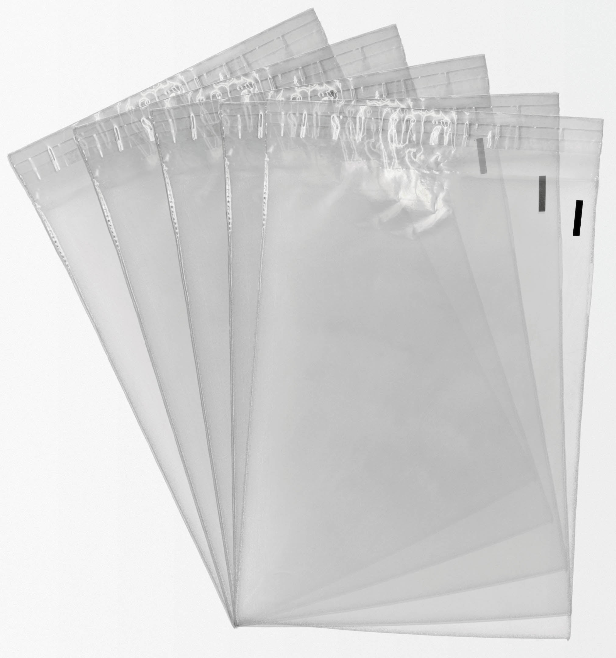 10 x 13 Clear Plastic Self Seal Poly Bags (1000 pack) | Shop4Mailers |  Shop4Mailers