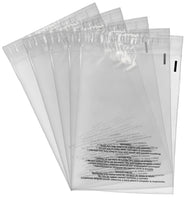 Shop4Mailers 9 x 12 Suffocation Warning Clear Plastic Self Seal Poly Bags 1.5 Mil