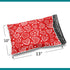 10x13 Glossy Hearts Poly Bag Mailer Envelopes 2 Mil | Shop4Mailers