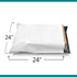 Shop4Mailers 24 x 24 Glossy White Poly Bag Mailer Envelopes