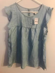 Women's LOFT Denim Shirt