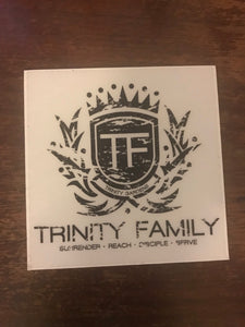 Trinity Family Window Car Decals