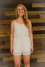 Load image into Gallery viewer, Women's Cream FOREVER 21 Romper