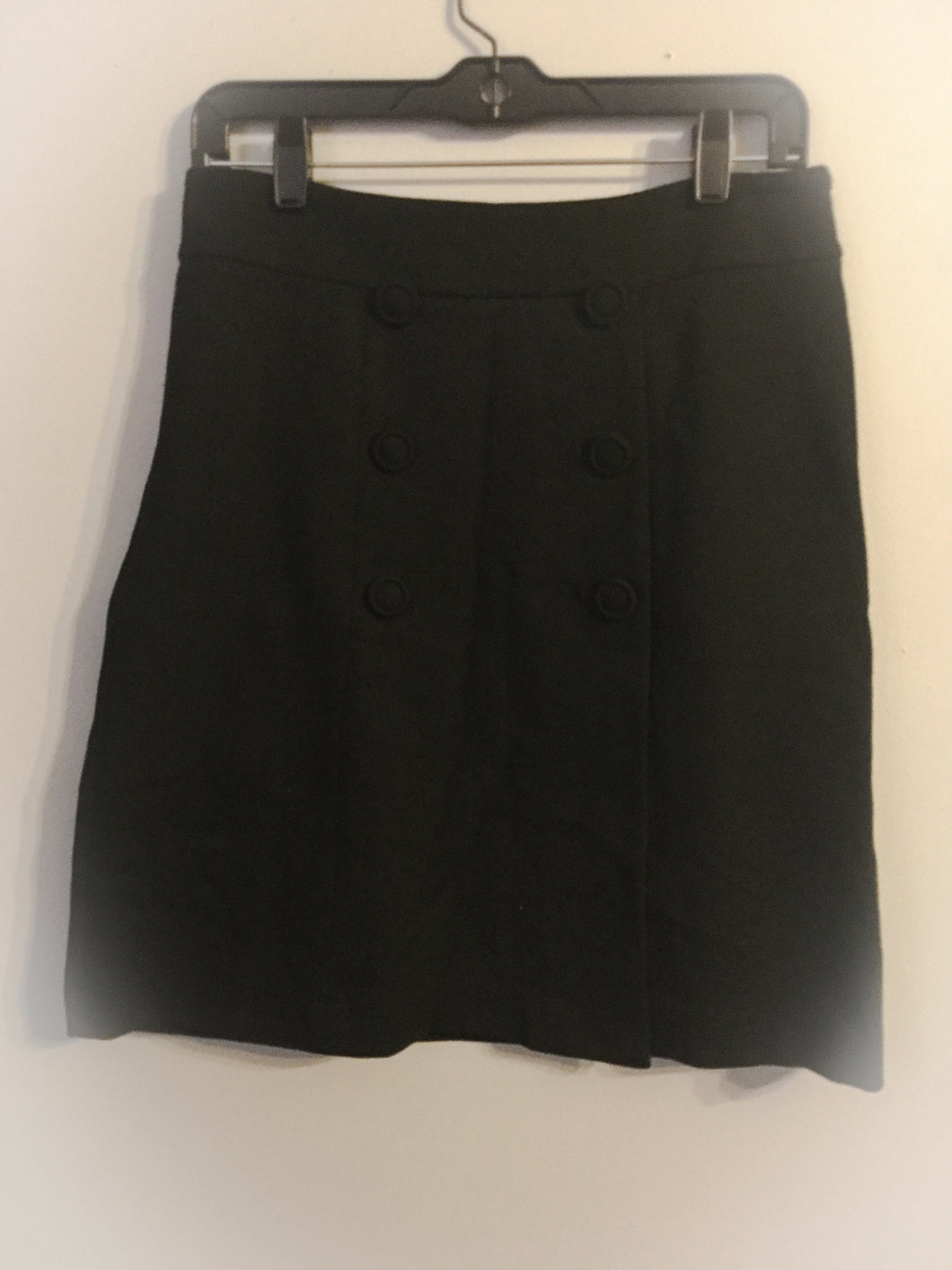 Women's TALBOTS Black Skirt With Buttons