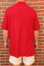 Load image into Gallery viewer, Men's Red CHAPS BY RALPH LAUREN Polo Shirt