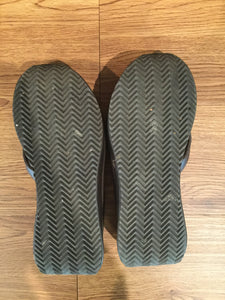 Women's Brown & Black VOLATILE Wedge Flip Flops (2 for 1!)