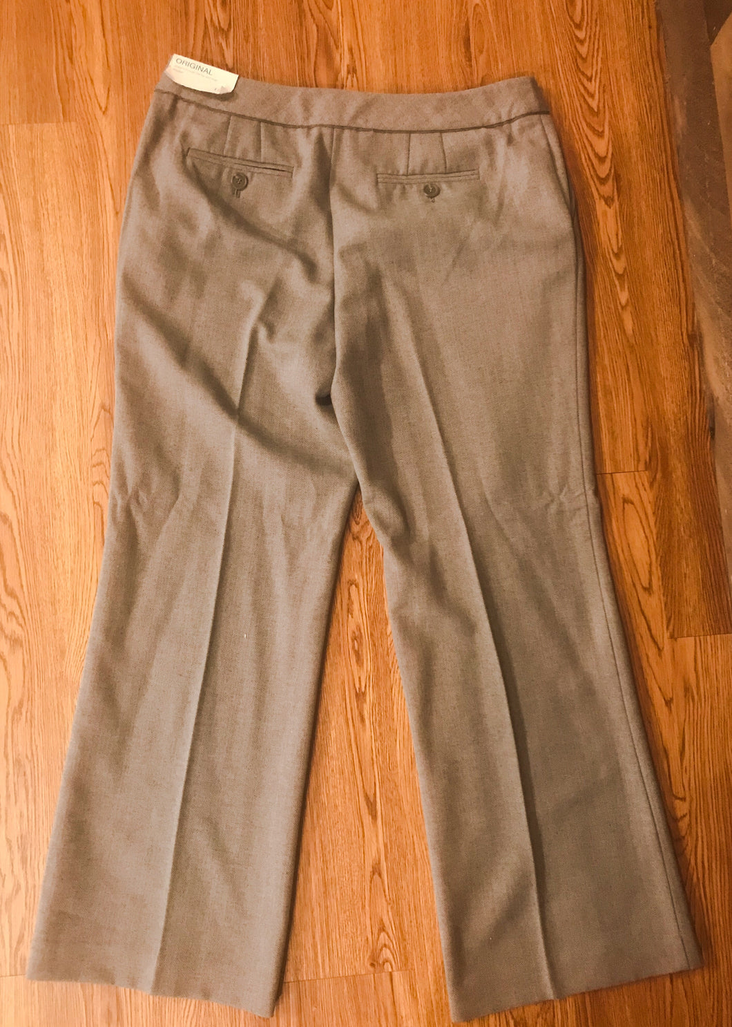 Women's LOFT Gray Trouser Pants
