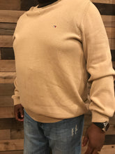 Load image into Gallery viewer, TOMMY HILFIGER Tan Sweater