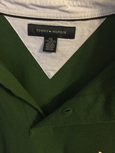 Men's Green Polo Style TOMMY HILFIGER Shirt