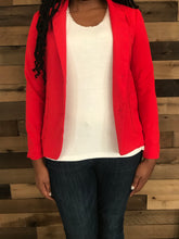 Load image into Gallery viewer, FOREVER 21 Women's Red Blazer