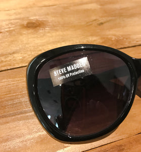 Women's Black STEVE MADDEN Sunglasses