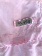 Load image into Gallery viewer, Women's Light Pink COLUMBIA Fishing Shirt