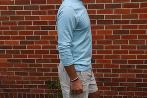 Men's Light Blue Long Sleeve PATAGONIA Shirt