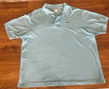 Load image into Gallery viewer, Men's LACOSTE Light Blue Polo Style Shirt
