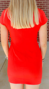 Women's Red ARK & CO. Dress