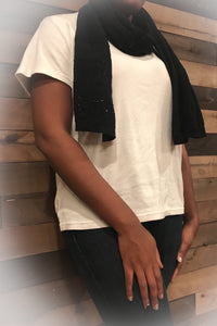 BANANA REPUBLIC Black Scarf
